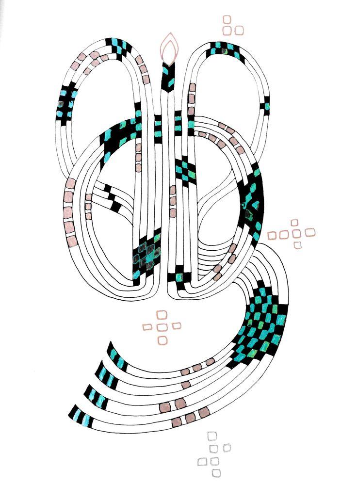 Ancient Earring #mandala #earring #zentangle #patterns #asymmetry #amulet #anscient #handmade #art #drawing #selfmade