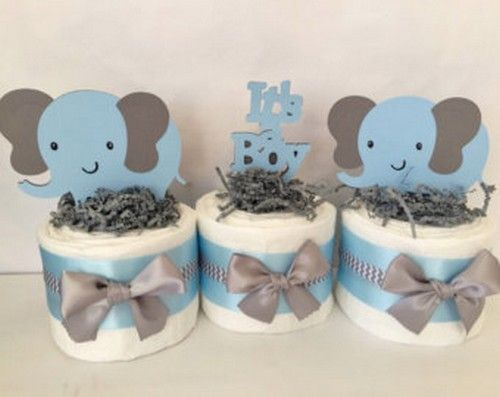 Centro de mesa baby shower para ni o http for Mesa baby shower nino