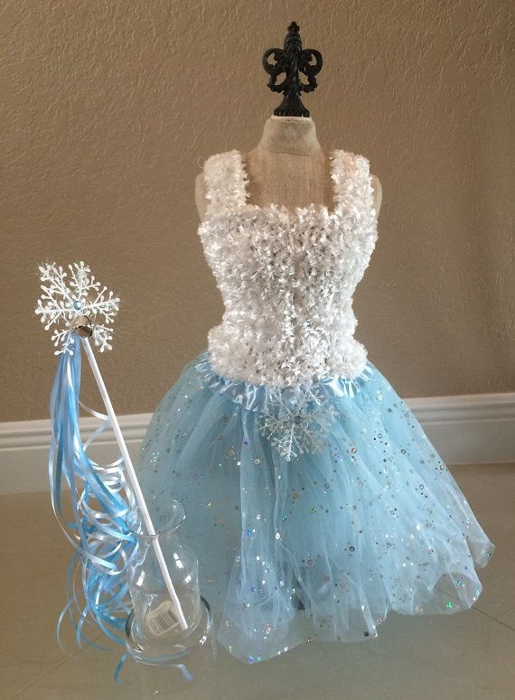 Frozen Tutu Dress, Frozen Dress, Elsa Frozen Tutu, White Tutu Top, Frozen  Party Favors, Frozen Birthday  Favors, Blue Fairy Dress