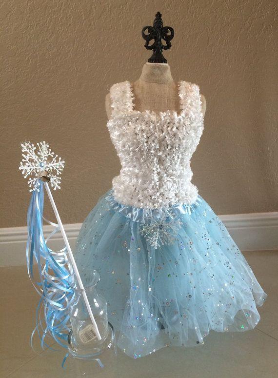 Frozen Tutu Dress, Frozen Dress, Elsa Frozen Tutu, White Tutu Top, Frozen  Party Favors, Frozen Birthday  Favors, Blue Fairy Dress