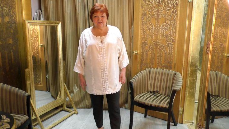 Узкие укороченные брюки в гардеробе женщины Short pants in the wardrobe ...