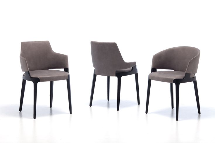 Potocco Velis Collection Scandinavian Dining Chairs
