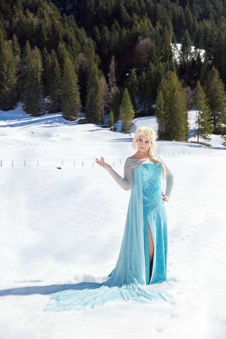 37 besten Elsa Frozen Cosplay by FILMKOSTUEME.CH Bilder auf ...