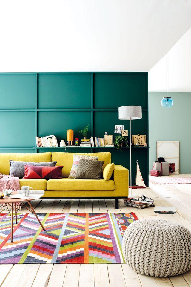 Les 25 meilleures id es de la cat gorie mobilier couleur for Deco lumiere sejour