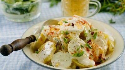 Salată cremoasă de cartofi | Retete culinare - Romanesti si din Bucataria internationala
