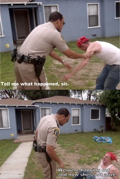 LMAO I seriously love Reno 911!