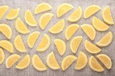 Цукаты из лимонных долек