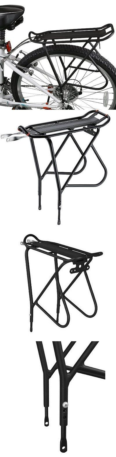 Carrier and Pannier Racks 177836: Bike Carrier Rack For Heavier Top And Side Storage 26-29 Frames Pannier Racks BUY IT NOW ONLY: $35.4