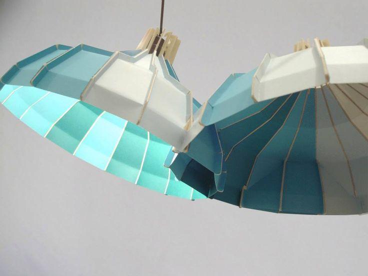 Boo / lampe en papier.2011 by JS Lagrange  - www.jslagrange.com/BOO -