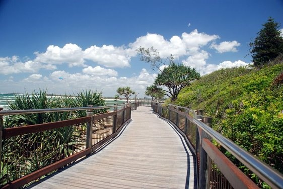 Queensland Bucket List | 2.  Walk or ride the Caloundra Coastal Walk stopping off for a swim (or a coffee!) at each beach from Currimundi Lake to Bulcock Beach.  26.8km