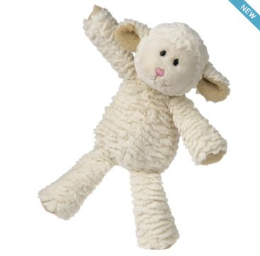 Marshmallow Lamb from Mary Meyer.  Available now at Bobangles.  #MaryMeyer #plush #toy #kids #cute #Australia #lamb