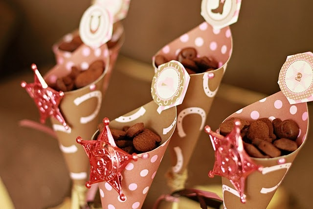 Cowgirl Party Cones