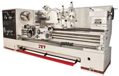 "#machine #tool JET GH-2680ZH 26 x 80"" large metalworking Lathe"