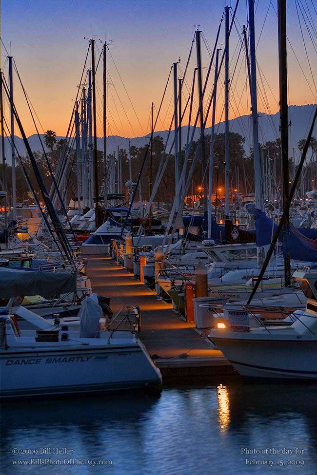 Dance Smartly at the Santa Barbara Harbor.    Photographic Print        http://www.BillHeller.com