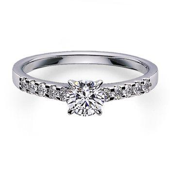 繊細で上品な印象。 *エンゲージリング 婚約指輪・ミキモト一覧*