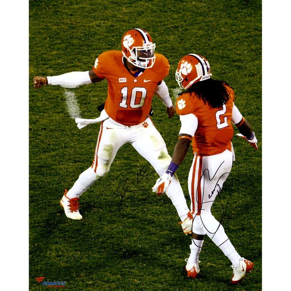 Sammy Watkins, Tajh Boyd Clemson Tigers Fanatics Authentic Autographed 16'' x 20'' High Five Photograph - $149.99