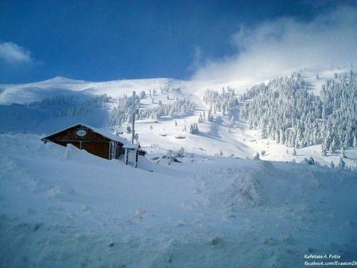 All things Hellenic ~ Ο Τόπος μας Ski resort kalavrita