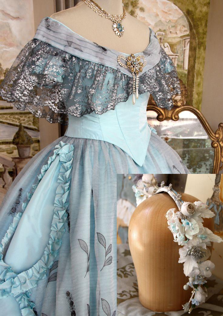 Dettaglio costume 1850, by Scatola Magica