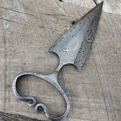 Hand Forged Damascus