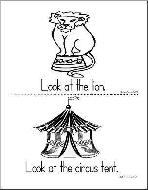 Early readers Circus theme and
