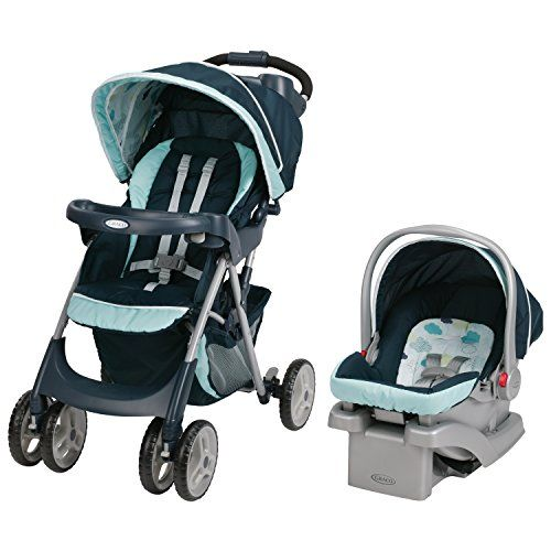 Graco Comfy Cruiser Click Connect Travel System, Stratus | Your #1 Source for Baby Products