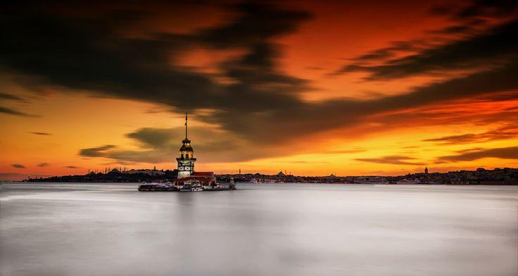Maiden's Tower... by Samet Güler on 500px