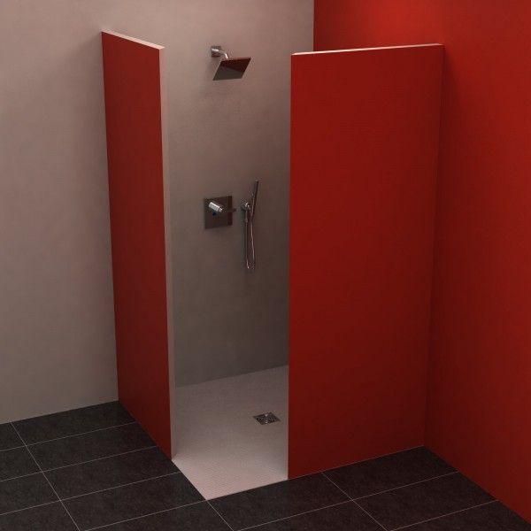 5 Eck 110x110 cm in 2020 Gemauerte dusche, Badewanne mit