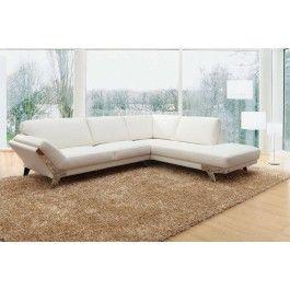 Divani Casa Lidia - Modern Sectional Sofa in Category 3 Italian Leather -