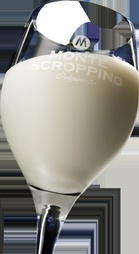 """Scroppino, famous Italian """"spoom"""" made of lime icecream, vodka, prosecco and a hint of vanilla"""
