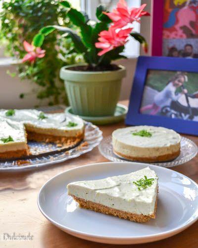 Cheesecake cu avocado (fără coacere)