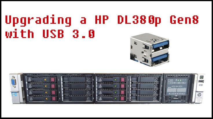 Upgrading a HP Proliant to USB 3.0
