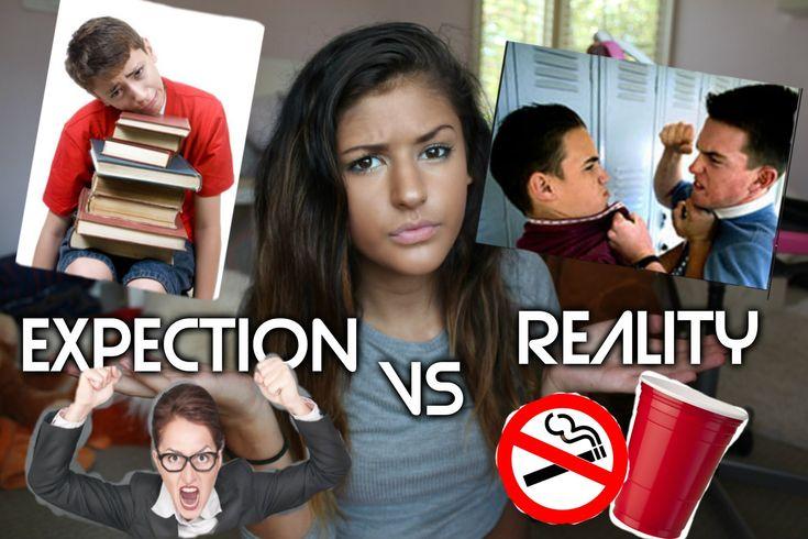 High School Expectations VS Reality + Freshman Tips // Jasmine Sky