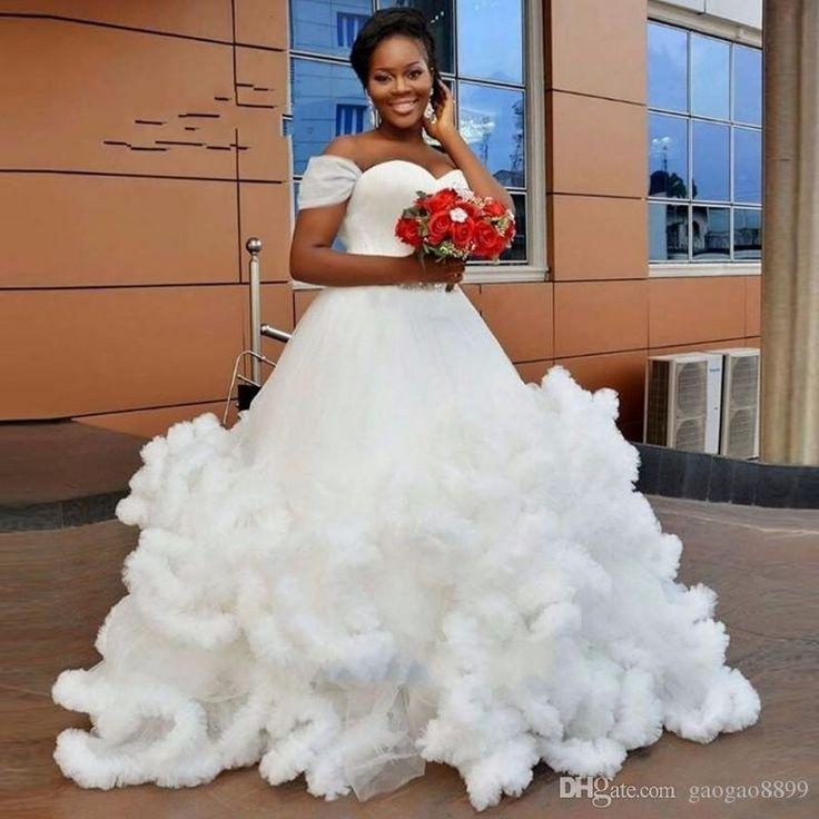 Luxury Princess Long Train Beach Cloud Designer Plus Size Wedding Gowns Wedding Dresses 2017 Vestidos De Noiva Robe De Mariage Wedding Dress Outlet Wedding Dress Stores From Gaogao8899, $165.83  Dhgate.Com