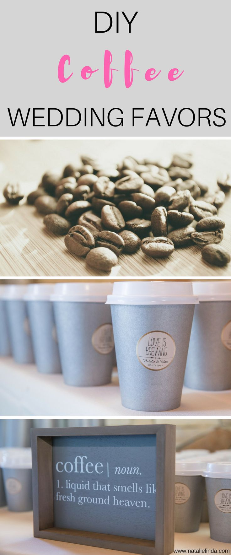 Coffee Wedding Favors Burlap Image Collections Images Decoration Ideas Best
