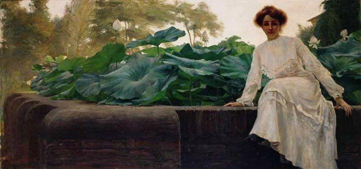 Amedeo Bocchi - Fior di loto, 1903