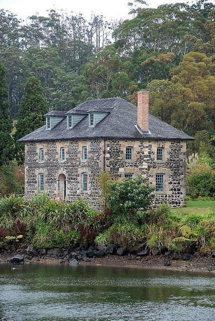 Travel Inspiration for New Zealand - The Stone Store ~ New Zealand's oldest building built 1832-36 ~ Kerikeri, Northland.