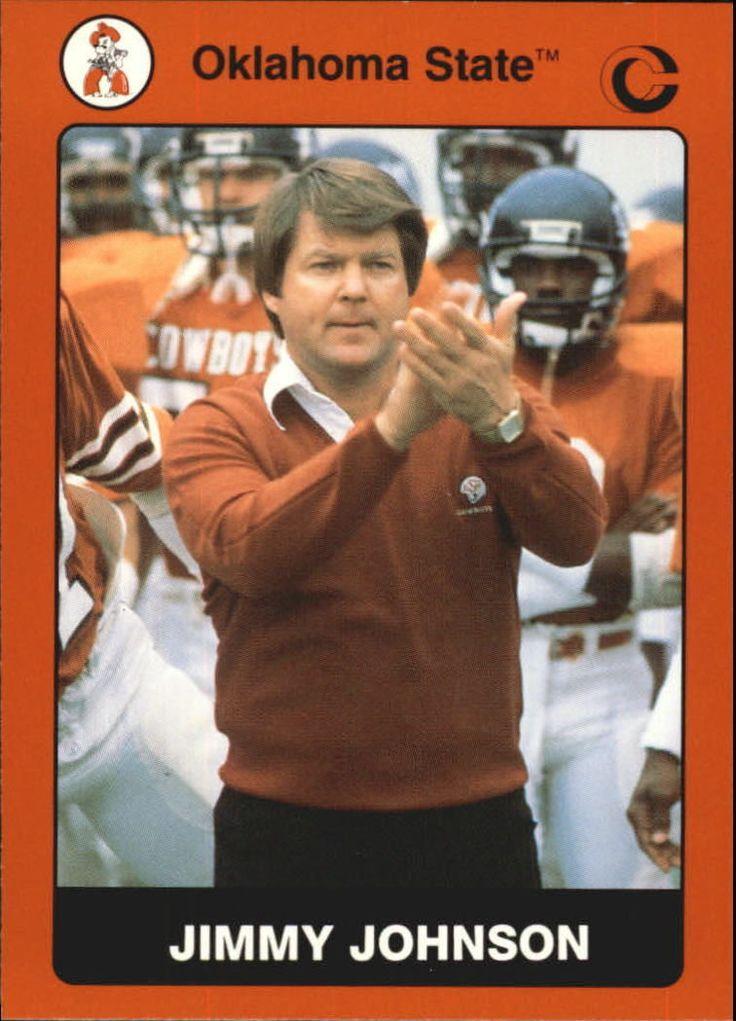1991 Oklahoma State  coach  Jimmy Johnson
