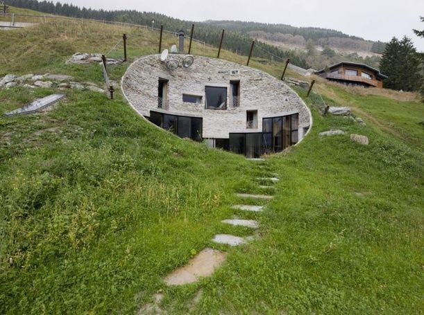 Vila v lázních Vals. Design: Bjarne Mastenbroek.
