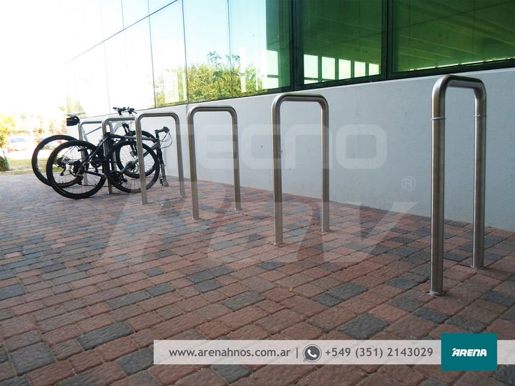 La Obra del Día: Estacionamiento para bicicletas. Producto: Adoquín AR6 Modelo Petrea.