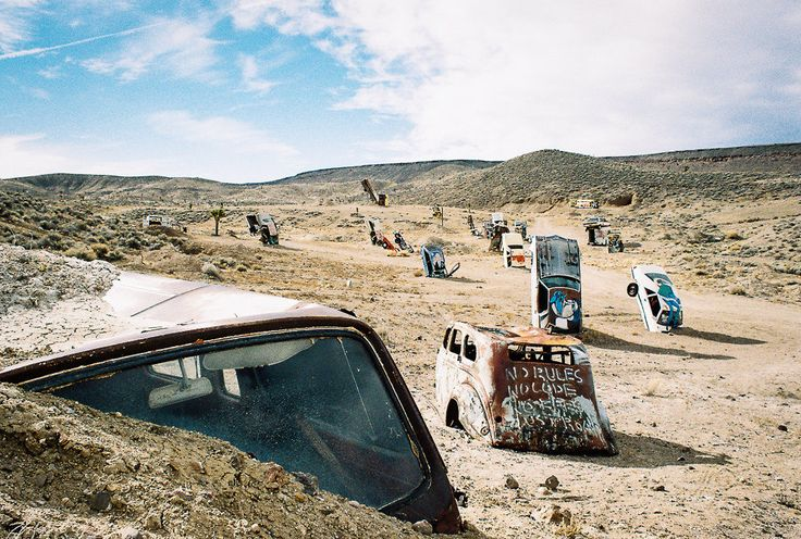 Hot springs, ghost towns, UFOs...where else but Nevada?