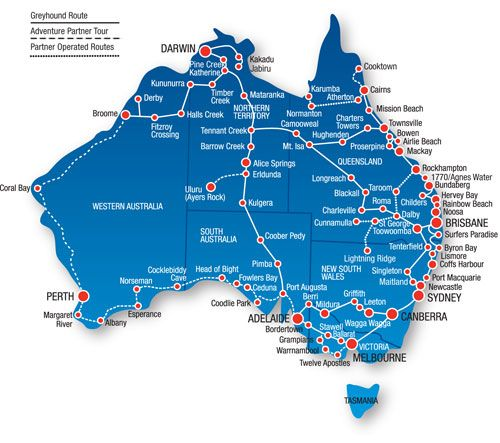 Greyhound Australien Erfahrungen