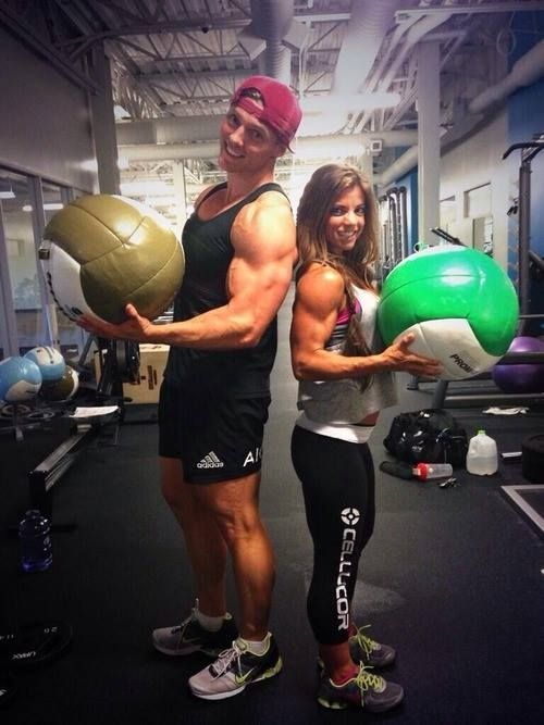 STEVE COOK & JEN JEWELL while filming her