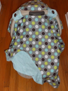 The Creative Side Car Seat Canopy Tutorial