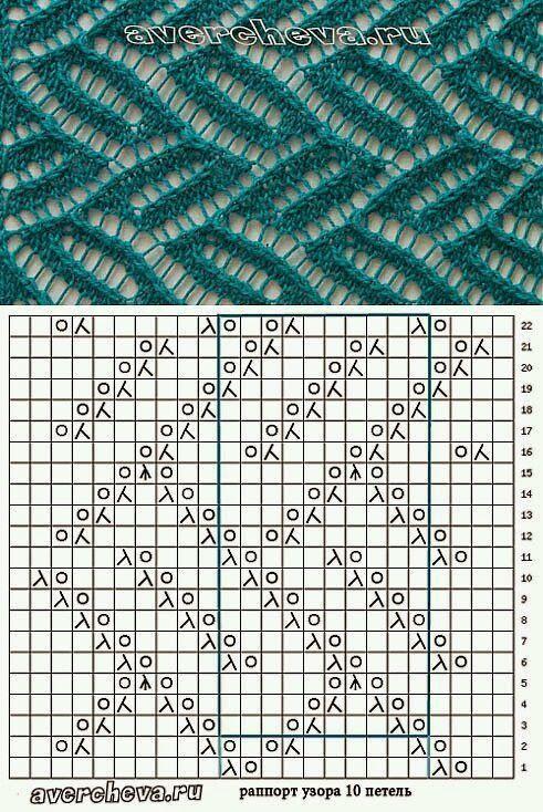 Mejores 30 imágenes de tejidos a dos ahujas en Pinterest | Patrones ...