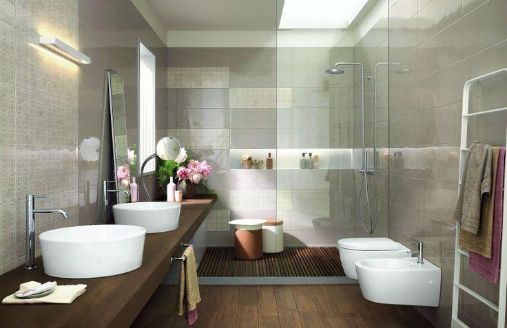 Oltre 1000 idee su piastrelle da bagno su pinterest - Incollare piastrelle su piastrelle ...