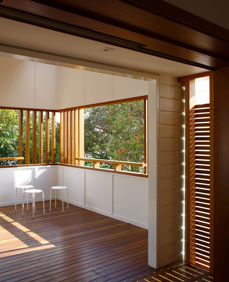 M Street Residence:  Looking towards the Outdoor Room