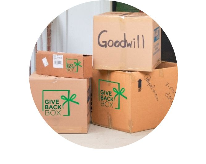 Use your #CyberMonday boxes to give back! Refill the box with your donations, print a shipping label, and send it to Seattle Goodwill for FREE through Give Back Box!  #donate #giveback #GiveBackBox #holidayshopping #goodwill #SeattleGoodwill #seattle