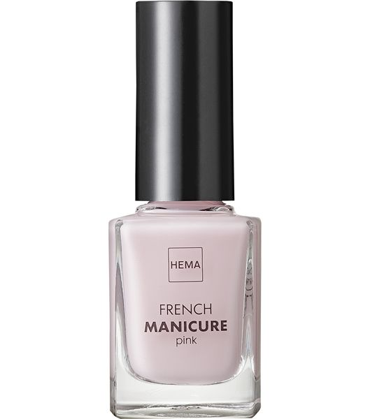 french manicure - HEMA // verzorgde en natuurlijke roze uitstraling