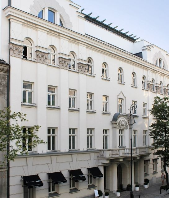 Hotel facade architecture H15 in Warsaw, Poland