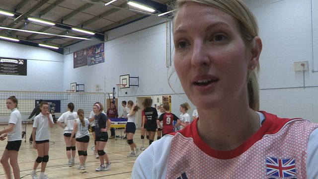 """Team GB volleyball player Rachel Laybourne  says she has been left """"financially crippled"""" by her journey to last summer's Games."""